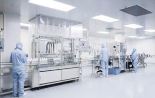Control de la contaminación en salas de producción