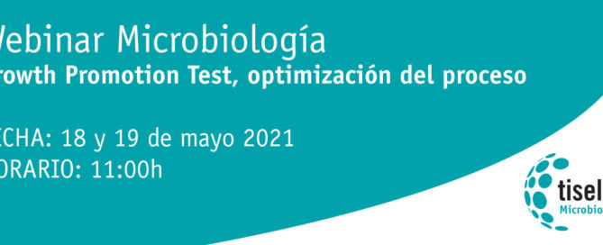 Webinar Microbiología – Growth Promotion Test