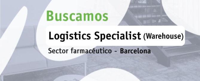 Buscamos Logistics Specialist (Warehouse)
