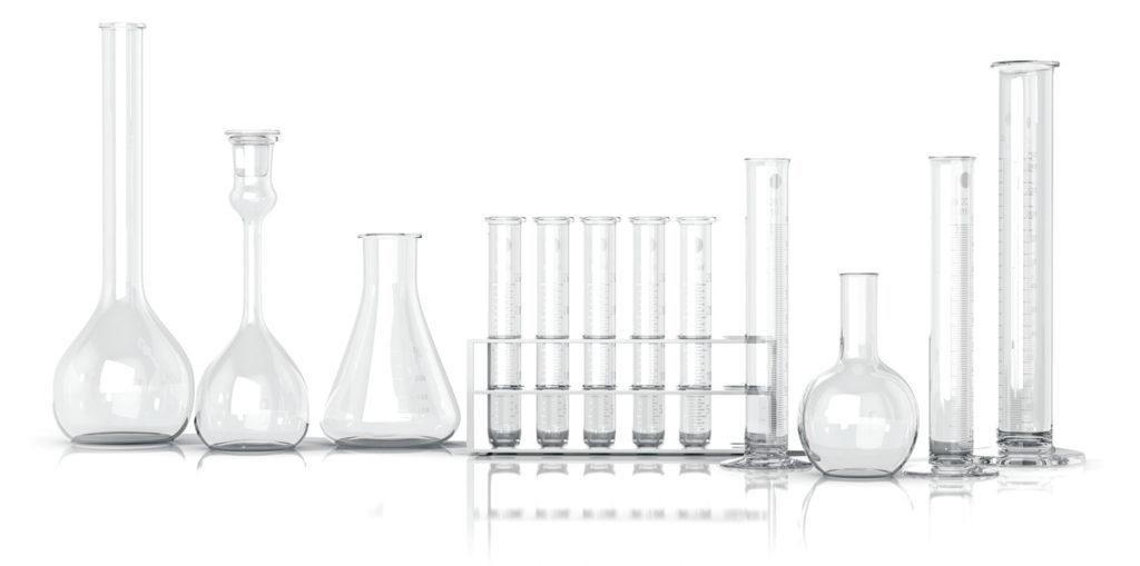 Lavado de instrumentos de laboratorio