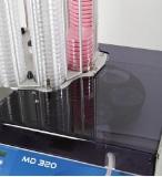 Dispensadores en tubos y frascos de medios y caldos MD320